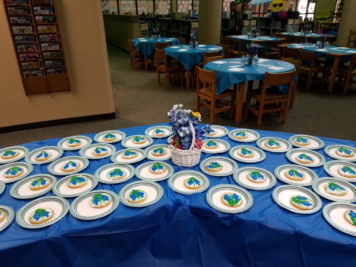 Texas Bluebonnet Book Party 2017